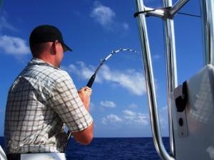 Fishing for dorado in Belize