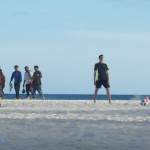 Playa del Carmen futbol practice