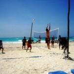 Volleyball in Playa del Carmen
