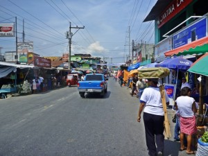 Streets of Rio Dulce, Guatemala