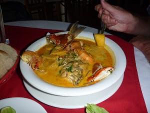 Traditional Garifuna soup