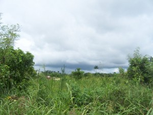 Corozal Belize storm clouds