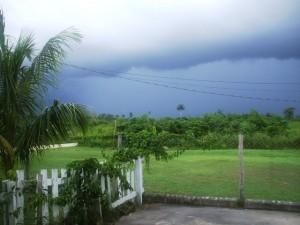 Corozal Belize storm