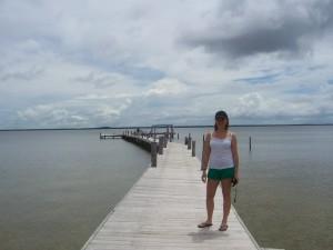 Corozal Belize dock