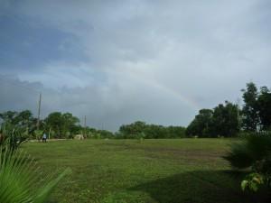 Rainbow in Belize