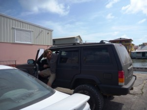 Shipping Jeep to Belize
