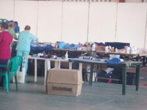 Vet volunteers in Corozal