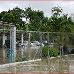 Corozal floods August 2012