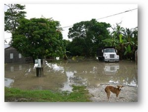 Corozal Belize Floods