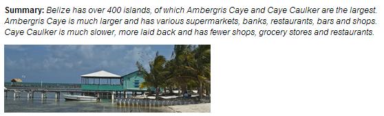 Living in Belize - Caye Caulker